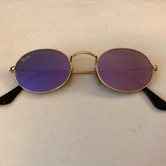a2d23d5dde Rayban oval flat purple flash lens. M 5ad9d38c3800c5ce2036f71a. Other  Accessories ...